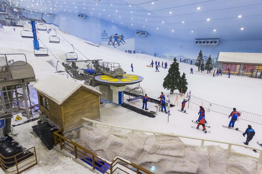 Nhà tuyết top 3 thế giới 8000m2.
