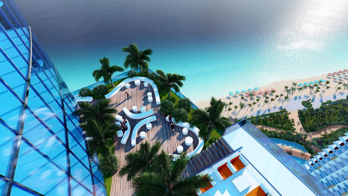 Khu cafe View Biển SunBay Park Hotel & Resort