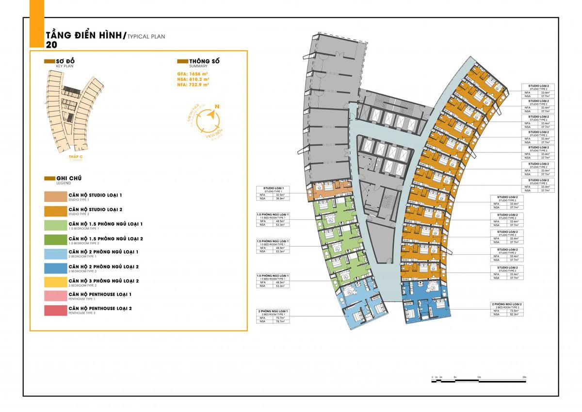 mat bang tang C 20 sunbay park - DỰ ÁN SUNBAY PARK HOTEL & RESORT NINH THUẬN