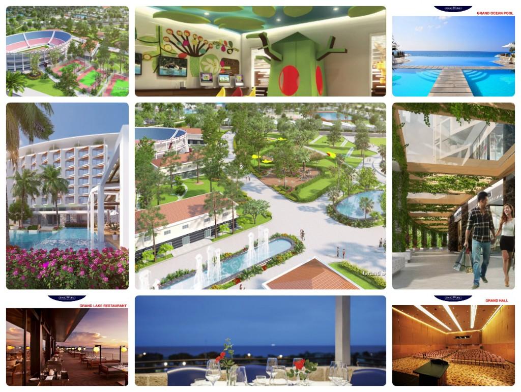 Kết quả hình ảnh cho Tiện ích dự án Vinpearl Grand World Phú Quốc