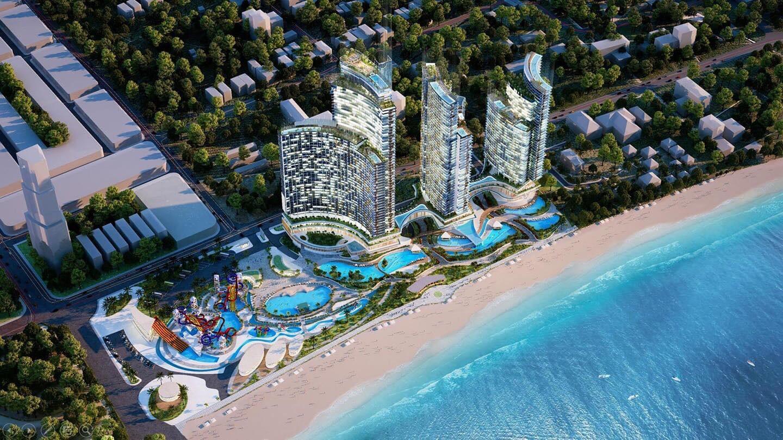 Mặt bằng dự án Hồ Tràm Complex
