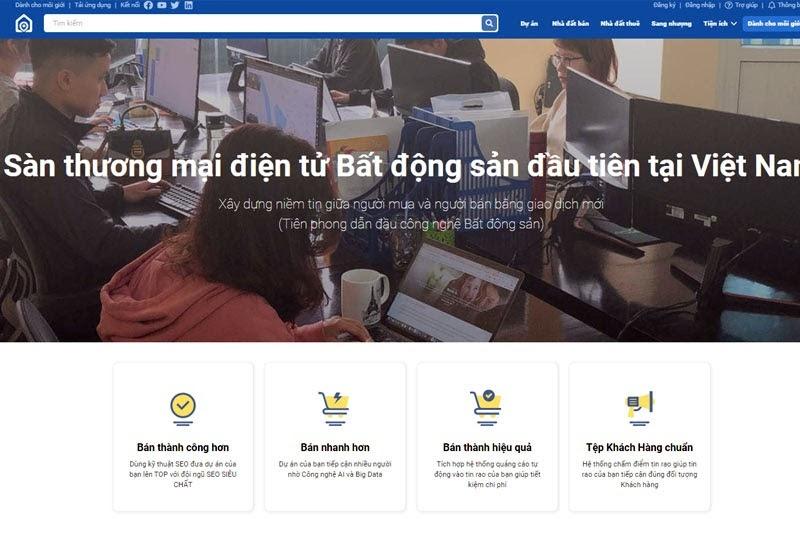 Nhadatmoi.net - sàn thương mại điện tử bất động sản phù hợp cho bạn