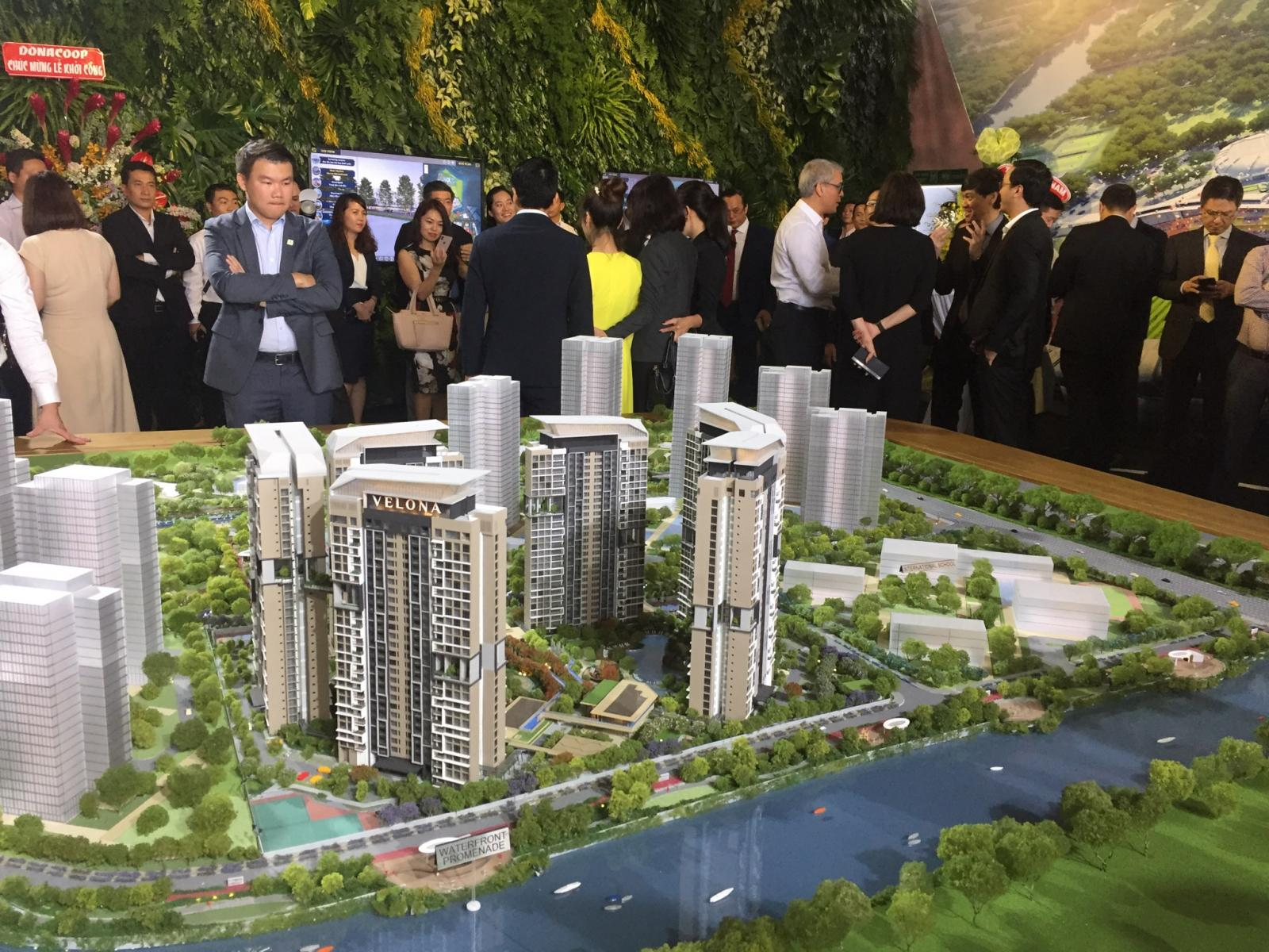 Khu đô thị Palm Marina thông tin dự án