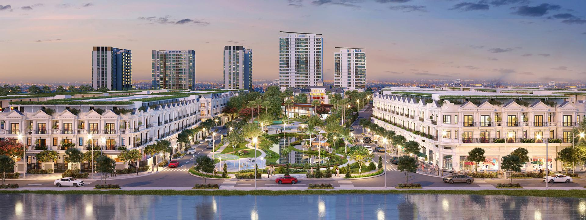 Các dự án bất động sản nhà đất, nhà phố, căn hộ chung cư mới nhất