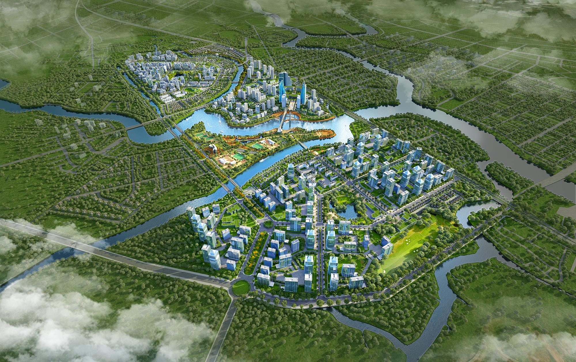 Khu đô thị Zeitgeist Xii Nhà Bè thông tin dự án