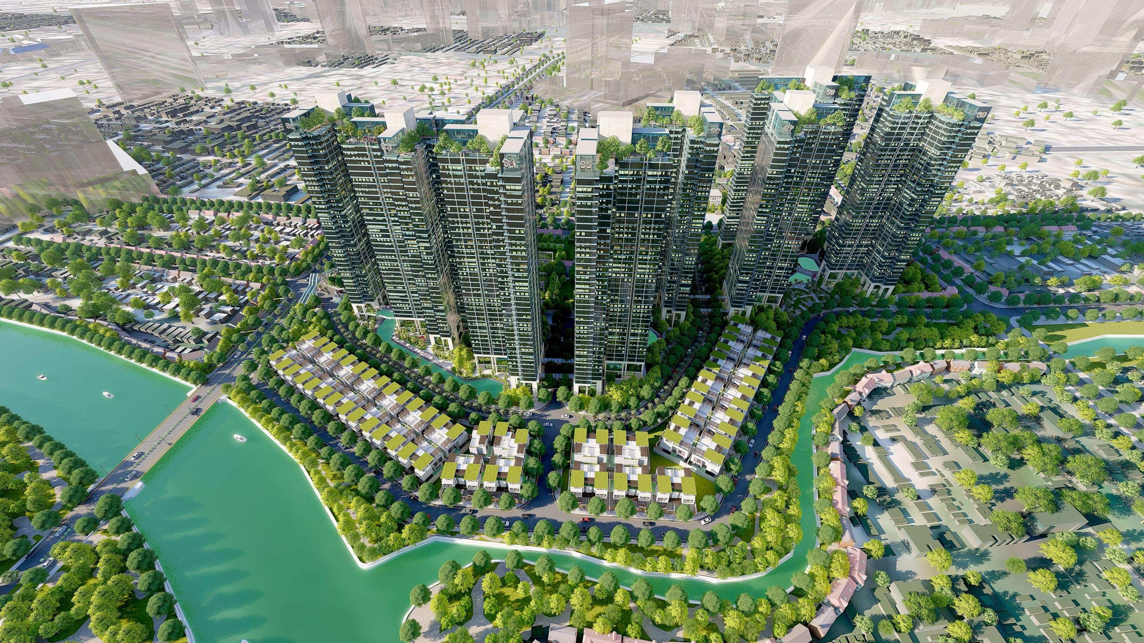 Căn hộ Luxcity Officetel Quận 7 quy mô dự án trung tâm