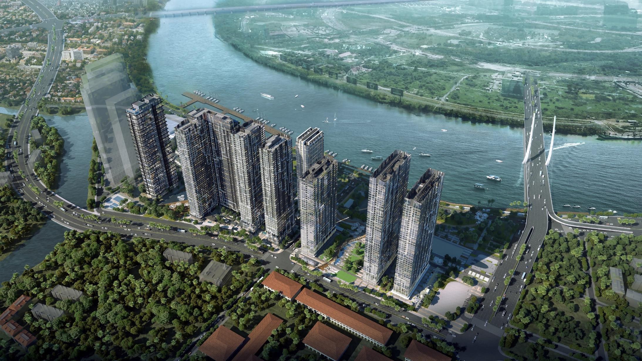 Căn hộ Grand Marina Saigon siêu dự án