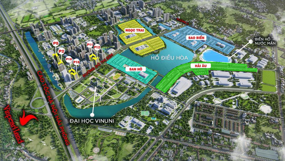 Vincity Ocean Park Gia Lâm - Bảng giá GỐC chính thức từ CĐT Vingroup T6/2021